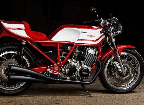"""Honda CB750 """"nhái"""" lại Bimota HB1 tinh xảo theo cách thủ công"""